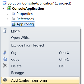 Configuration Transform - Visual Studio Marketplace
